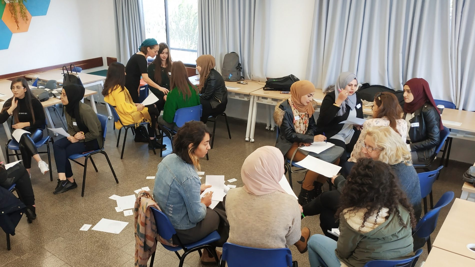 International Women's Day in Kinneret College's Dialogue group